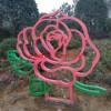 不锈钢花雕塑,公园花朵雕塑,景观花朵雕塑,河北雕塑厂