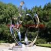 不锈钢镜面造型雕塑 不锈钢景观雕塑 河北不锈钢雕塑厂