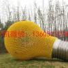 玻璃钢仿真灯泡雕塑 公园景观雕塑摆件 润景雕塑厂家供应