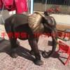 招财大象铜雕塑 动物大象铜雕塑 大象雕塑厂家