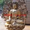 坐像如来佛祖 如来佛祖 纯黄铜佛像