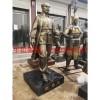 润景玻璃钢仿铜医学名人白求恩雕塑厂家不二之选