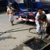 高壓清洗車抽糞吸污管道清洗