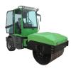 2吨全液压压路机 小型双钢轮座驾式震动双锟振动碾生产