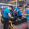 手扶振动小碾子 手扶式双轮压路机 小型震动压实机生产厂家