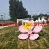 桃花雕塑 不锈钢公园雕塑制作厂家