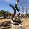 公园异形雕塑 不锈钢景观雕塑