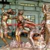 跳舞人铜雕 环球雕塑做工精美