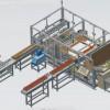 博宇塑机PVC地板自动包装机设备