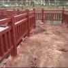 1.8米65公分梯形仿木栏杆厂家批发广东河源和平
