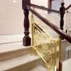 平江铝艺楼梯 弧形铝艺护栏所有款式图片