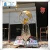 校园不锈钢成长励志飞鸟雕塑 飞鹤雕塑报价