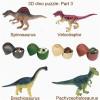 優肯恐龍蛋兒童益智拼圖玩具定制 豐富孩子想象力
