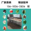 全自动蔬菜清洗机,气泡水果流水线