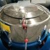 上饶床单洗涤用100KG大型工业不锈钢甩干机