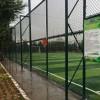 海淀区中学七人制足球场围网安装指导