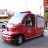 山东中煤厂家直销四座封闭式电动消防车