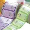 卷筒彩色洗衣液标签