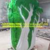 宣传景区效应玻璃钢白菜雕塑发展乡村旅游