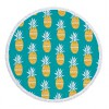 超细纤维 活性印花圆形沙滩巾