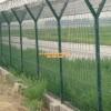 飞机场跑道Y型柱护栏网 机场铁刺丝围界价格