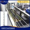 天波厂家定制四川不锈钢立柱护栏 玻璃栏杆 楼梯扶手 立柱