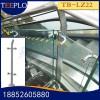 天波定制宜宾不锈钢楼梯立柱 地铁商场玻璃护栏立柱