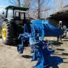 加工定制 大马力拖拉机后挂式液压牵引翻转犁 栅条农耕翻转犁