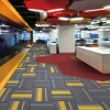 深圳办公室地毯客厅公寓写字楼工程北欧风格方块pvc底地毯