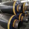 钢套钢蒸汽保温预制钢管地埋钢套钢岩棉保温管河北钢套钢管道厂家