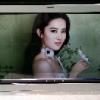 东莞惠华厂家直销49寸透明液晶展示柜