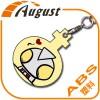 热转印空白耗材ABS塑料钥匙扣简装A222-1定制照片