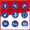 厂家直销粤盾交通圆形标识牌反光牌可定制告示牌警示牌