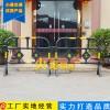 塑料护栏黄色护栏施工护栏隔离护栏带板塑料护栏