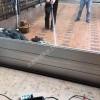遇到大雨不要怕就用铝合金挡水板来帮忙