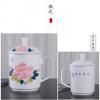 景德镇陶瓷手绘茶杯手绘青花瓷全手工老板杯办公茶杯