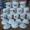 十二生肖年终福利礼品陶瓷茶杯新年礼品陶瓷茶杯订做定制