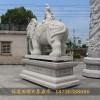 六牙石雕大象石雕大象泉州厂家动物摆件
