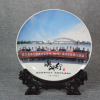 定制陶瓷盘同学聚会陶瓷纪念盘定做礼品厂家