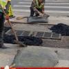 广东汕头冷沥青料坑洞修复井盖周边修补都可
