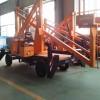 威海曲臂式升降机移动室外登高车路灯维修车