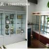 南京苏宁环球玻璃展柜安装改造