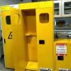 双瓶气瓶柜带报警带排风防爆柜单双三气瓶柜