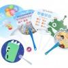 广州铆钉塑料扇定制,佛山塑料扇定制,中山定制广告扇