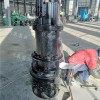 大型水库清淤抗磨潜水清淤泵/无堵塞淤泥泵