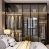 极简玻璃的正确打开方式,从客厅美到卧室