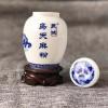 景德镇陶瓷药粉罐密封药罐陶瓷药丸罐子定做厂家
