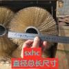 滚筒筛防堵钢丝刷 65锰筛网