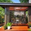 铝合金户外遮阳棚,铝合金凉亭