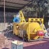 农村铺设小院用沥青拌合机固定式沥青加热拌合机双层滚筒拌合机